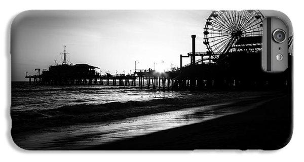 Santa Monica Pier In Black And White IPhone 7 Plus Case