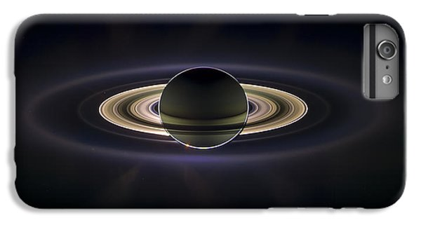 Saturn IPhone 7 Plus Case by Adam Romanowicz
