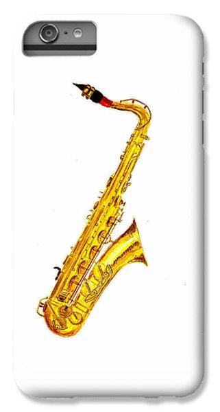 Saxophone iPhone 7 Plus Case - Saxophone by Michael Vigliotti