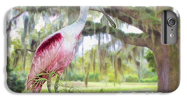 Spoonbill iPhone 7 Plus Case - Scene From The Deep South by Bonnie Barry