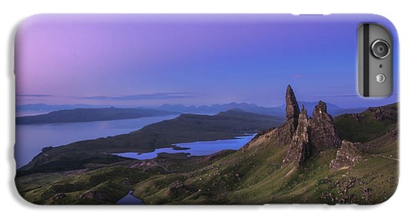 The Moon iPhone 7 Plus Case - Scotland - Storr At Night by Jean Claude Castor