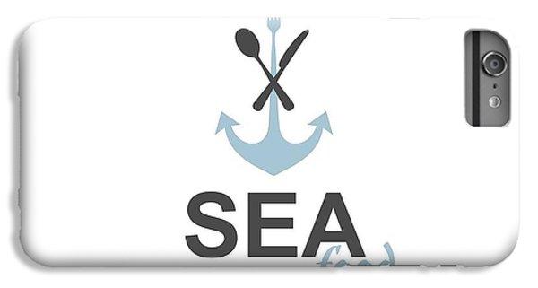 Ship iPhone 7 Plus Case - Sea Food Logo by Jelenaa