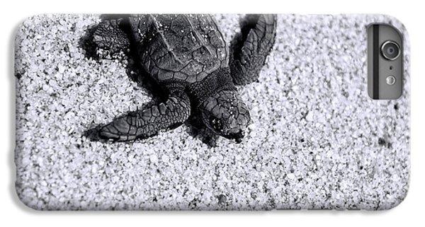 Sea Turtle In Black And White IPhone 7 Plus Case