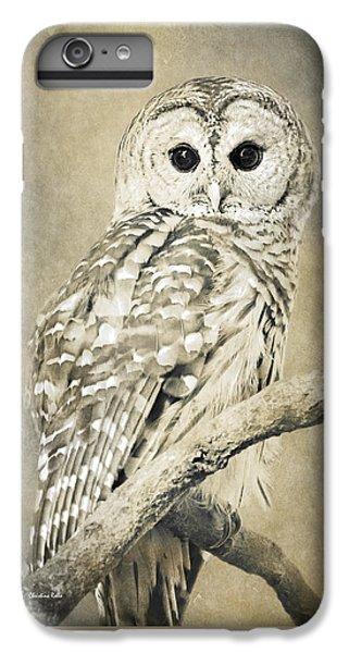 Sepia Owl IPhone 7 Plus Case