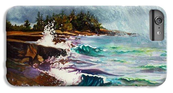 Lake Superior iPhone 7 Plus Case - September Storm Lake Superior by Kathy Braud