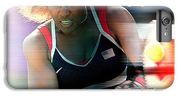 Serena Williams IPhone 7 Plus Case by Marvin Blaine