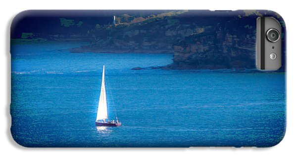 IPhone 7 Plus Case featuring the photograph Shimmer Of The White Sail by Miroslava Jurcik