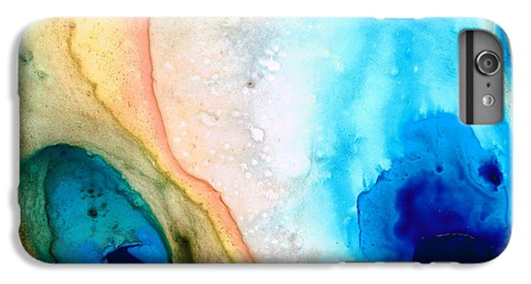 Shoreline - Abstract Art By Sharon Cummings IPhone 7 Plus Case