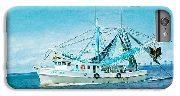 Shrimp Boats iPhone 7 Plus Case - Shrimp Trawler by Laura D Young