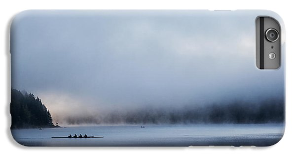Boats iPhone 7 Plus Case - Silent Morning by Uschi Hermann