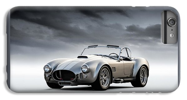 Silver Ac Cobra IPhone 7 Plus Case by Douglas Pittman