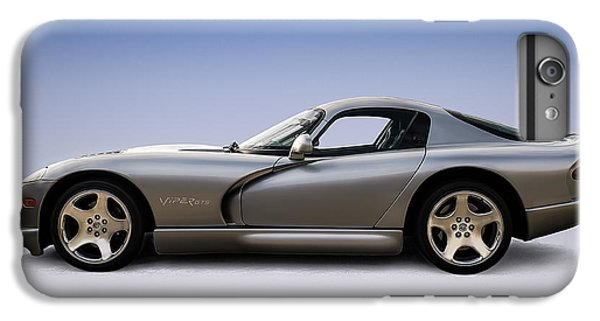 Viper iPhone 7 Plus Case - Silver Viper by Douglas Pittman
