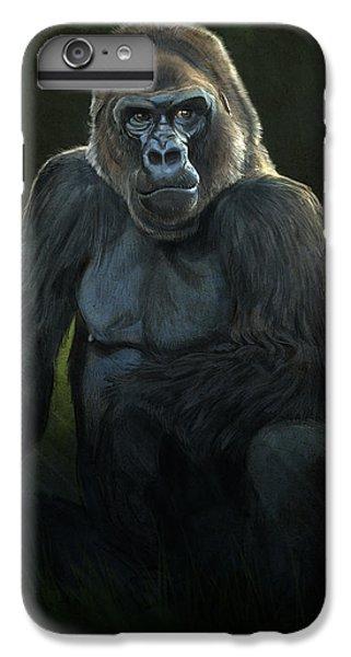 Gorilla iPhone 7 Plus Case - Silverback by Aaron Blaise