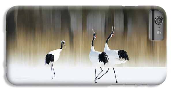 Crane iPhone 7 Plus Case - Sing A Song Of Love by Ikuo Iga