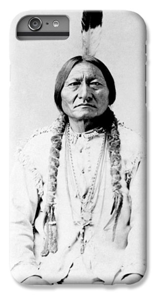 Bull iPhone 7 Plus Case - Sioux Chief Sitting Bull by War Is Hell Store