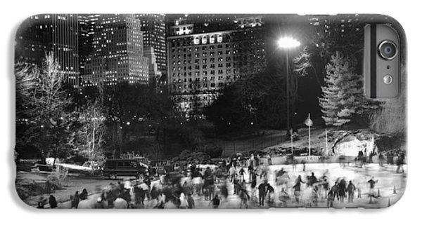 New York City - Skating Rink - Monochrome IPhone 7 Plus Case