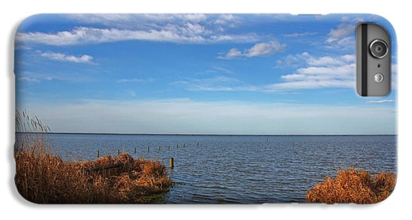 IPhone 7 Plus Case featuring the photograph Sky Water And Grasses by Nareeta Martin