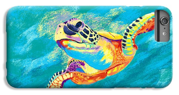 Turtle iPhone 7 Plus Case - Slow Ride by Kevin Putman