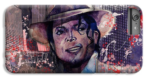 Michael Jackson iPhone 7 Plus Case - Smooth Criminal by Bekim Art