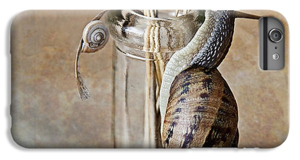 Insects iPhone 7 Plus Case - Snails by Nailia Schwarz