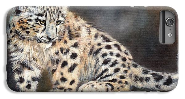 Snow Leopard Cub IPhone 7 Plus Case