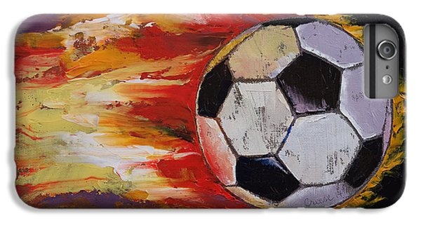 Soccer IPhone 7 Plus Case by Michael Creese