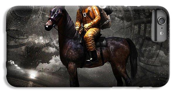 Moon iPhone 7 Plus Case - Space Tourist by Vitaliy Gladkiy