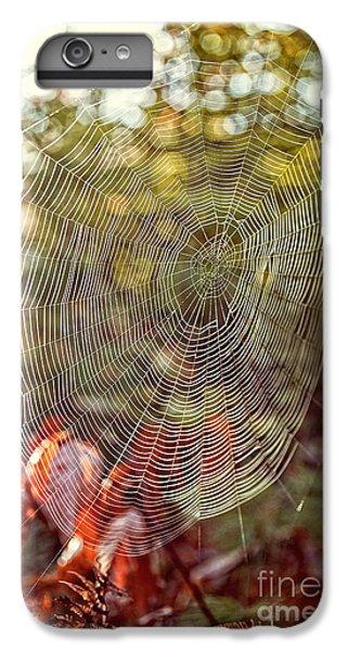 Spider Web IPhone 7 Plus Case by Edward Fielding
