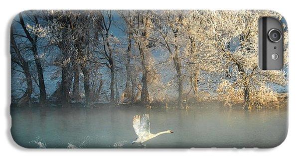 Swan iPhone 7 Plus Case - Spirit Of A Swan by C. Mei