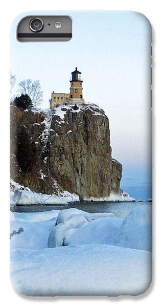 Lake Superior iPhone 7 Plus Case - Split Rock Lighthouse by Alison Gimpel