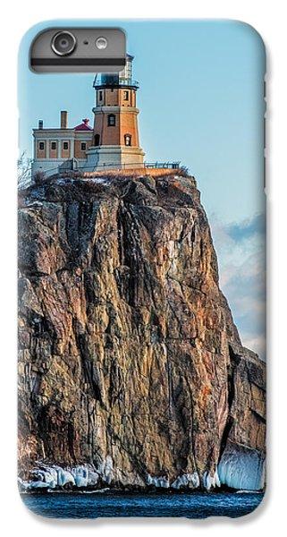 Lake Superior iPhone 7 Plus Case - Split Rock Lighthouse In Winter by Paul Freidlund