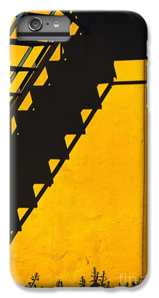 IPhone 7 Plus Case featuring the photograph Staircase Shadow by Silvia Ganora