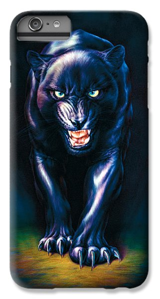 Stalking Panther IPhone 7 Plus Case by Andrew Farley