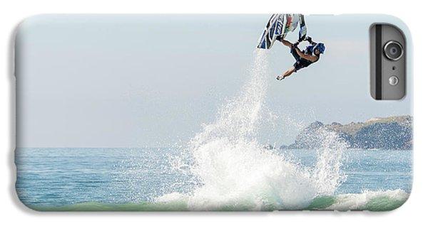 Jet Ski iPhone 7 Plus Case - Stand Up Jet Ski Barrel Roll Nac Nac by Marcos Ferro