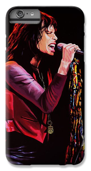 Steven Tyler IPhone 7 Plus Case by Paul Meijering