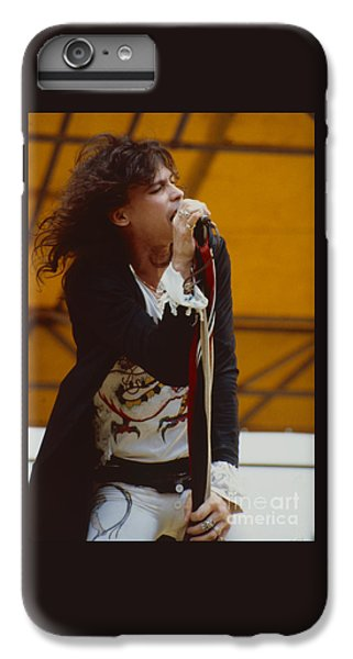 Steven Tyler Of Aerosmith At Monsters Of Rock In Oakland Ca IPhone 7 Plus Case by Daniel Larsen