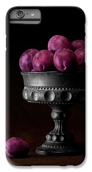 Orange iPhone 7 Plus Case - Still Life With Plums by Tom Mc Nemar