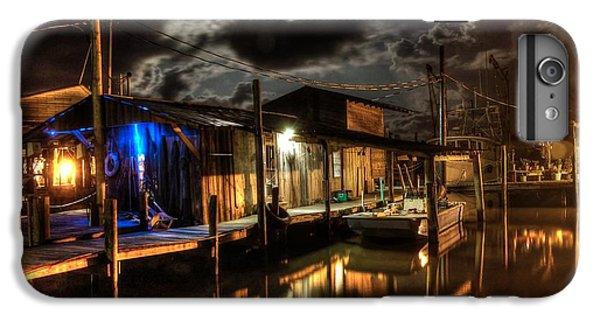 Shrimp Boats iPhone 7 Plus Case - Still Marina by Michael Thomas