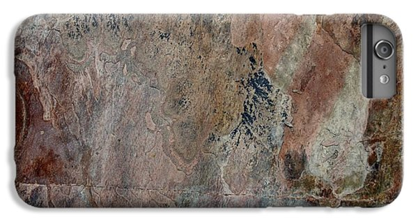 Red iPhone 7 Plus Case - Stone II by Linda Brody