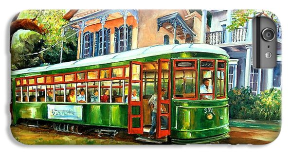 Figurative iPhone 7 Plus Case - Streetcar On St.charles Avenue by Diane Millsap