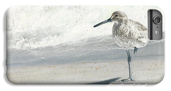 Sandpiper iPhone 7 Plus Case - Study Of A Sandpiper by Dreyer Wildlife Print Collections