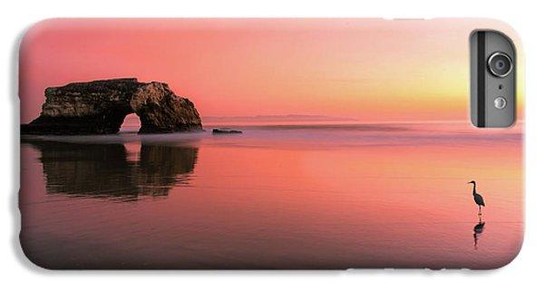 Heron iPhone 7 Plus Case - Sunset At The Natural Bridge-2 by Rob Li