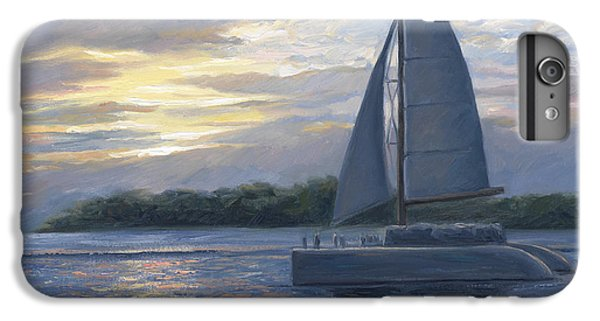 Boats iPhone 7 Plus Case - Sunset In Key West by Lucie Bilodeau