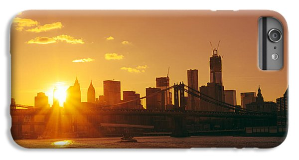 City Sunset iPhone 7 Plus Case - Sunset - New York City by Vivienne Gucwa