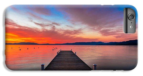 Lake iPhone 7 Plus Case - Sunset Walkway by Edgars Erglis