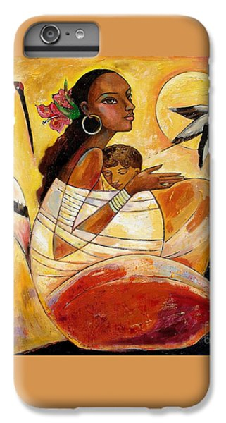 iPhone 7 Plus Case - Sunshine Mother And Child by Shijun Munns
