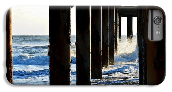 IPhone 7 Plus Case featuring the photograph Sunwash At St. Johns Pier by Anthony Baatz