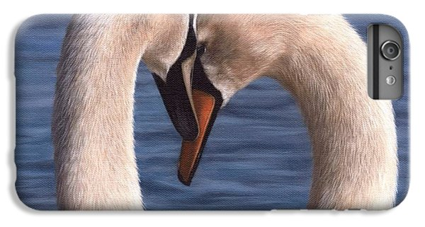 Swans Painting IPhone 7 Plus Case by Rachel Stribbling