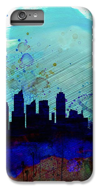 Sydney Skyline iPhone 7 Plus Case - Sydney Watercolor Skyline by Naxart Studio