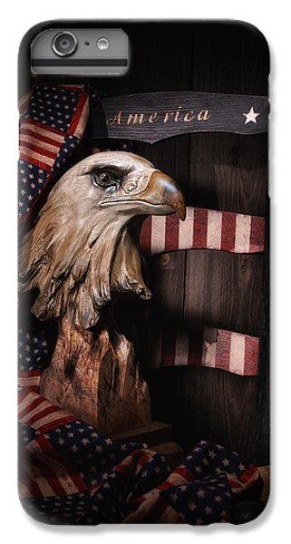 Eagle iPhone 7 Plus Case - Symbol Of America Still Life by Tom Mc Nemar